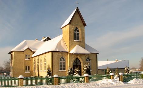 Dundagas baptistu baznīca 2010. gada ziemā