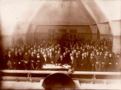 Dundagas patērētāju biedrības gada sapulce 1930. gada martā