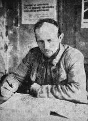 Dundangas ciema padomes priekšsēdētājs Alfrēds Kalers