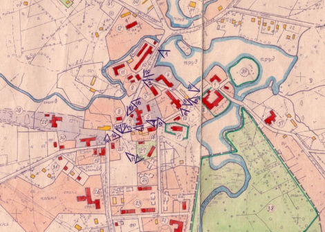 Fragments no 1975. gada Dundagas pilsētciemata ģenplāna