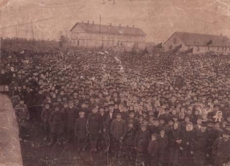 Mītiņš Jaundundagā 1905. gada 22. oktobrī