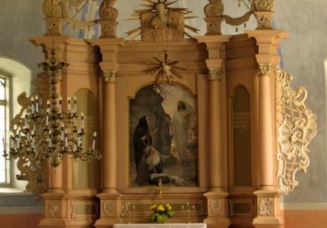 Dundagas luterāņu baznīcas altāris