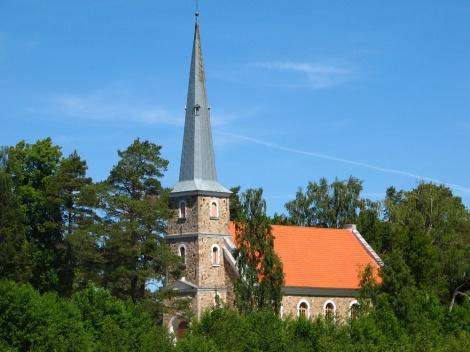 Mazirbes luterāņu baznīca 2006. gadā